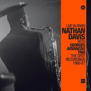 LIVE IN PARIS (LP) - NATHAN DAVIS with GEORGES ARVANITAS TRIO