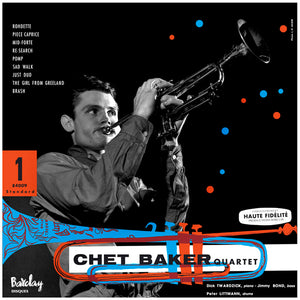 CHET BAKER QUARTET feat. DICK TWARDZIK (LP)