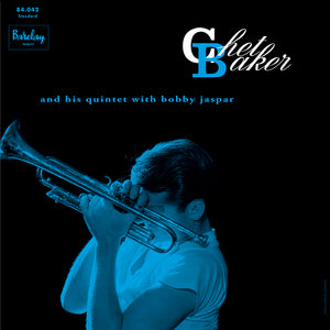 CHET BAKER AND HIS QUINTET with BOBBY JASPAR (LP)