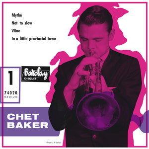 CHET BAKER AND HIS OCHESTRA (EP)