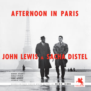 AFTERNOON IN PARIS (LP) - JOHN LEWIS / SACHA DISTEL