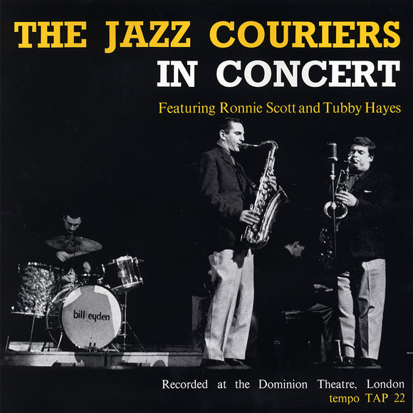 THE JAZZ COURIERS IN CONCERT (LP)