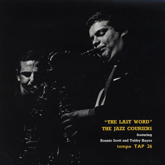 THE LAST WORD (LP) - THE JAZZ COURIERS