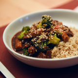 Beef & Black Bean with Broccoli & Long Grain Rice