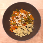 Chicken Marrakesh with Apricots and Cous Cous