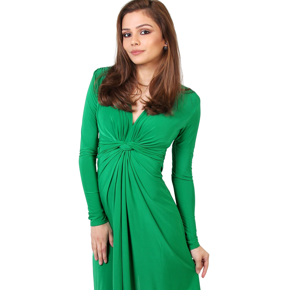 green dress for womens