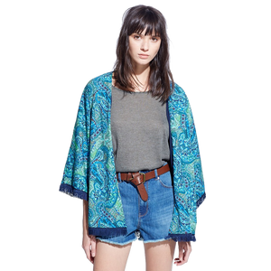 girls blue shrug