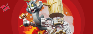 IRON Studios Tom & Jerry Prime 1/3 Scale Limited Edition Statue