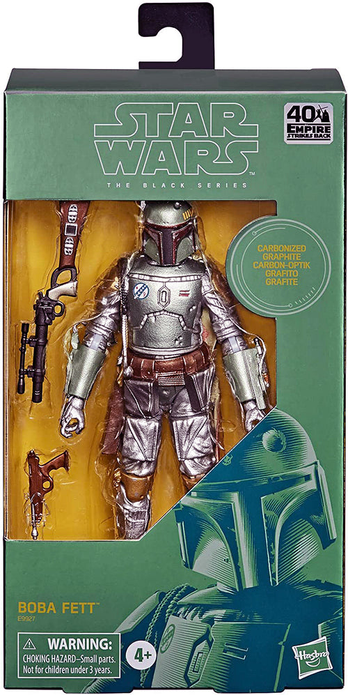 Boba Fett Carbonized Action Figure box