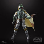 Boba Fett Carbonized Action Figure black background
