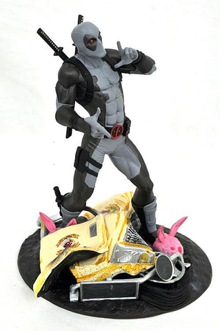 Deadpool X Force Uniform Taco Truck Edition Statue Front View