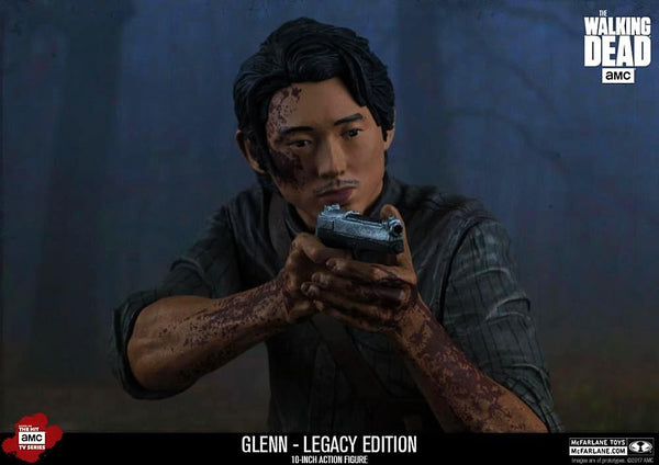 The Walking Dead 10-inch Glenn Collectible Deluxe Action Figure McFarlane Toys