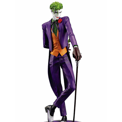 IKEMEN SERIES THE JOKER DC COMICS 1:7 SCALE STATUE front view