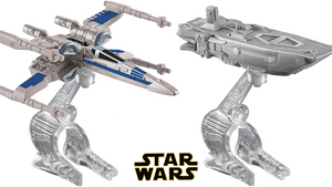 Hot Wheels Star Wars: the Force Awakens First Order Transporter Vs. X-Wing Fighter Starship 2-Pack