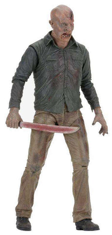 "Friday the 13th 7"" The Final Chapter Action Fig- Ultimate Part 4 Jason"