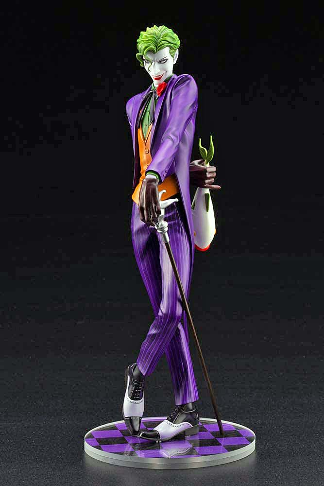 IKEMEN SERIES THE JOKER DC COMICS 1:7 SCALE STATUE black background