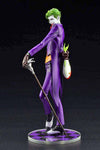 IKEMEN SERIES THE JOKER DC COMICS 1:7 SCALE STATUE black background left side view