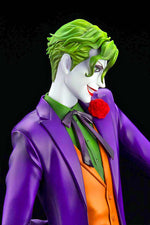 IKEMEN SERIES THE JOKER DC COMICS 1:7 SCALE STATUE close up face right side