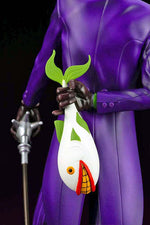 IKEMEN SERIES THE JOKER DC COMICS 1:7 SCALE STATUE close up of laughing fish