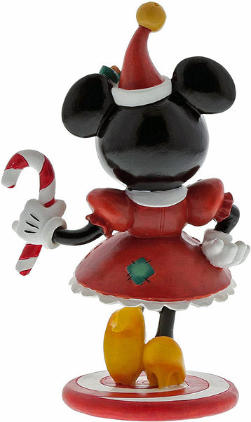 Enesco The World of Miss Mindy Christmas Minnie Mouse 6.22 Inch Figurine