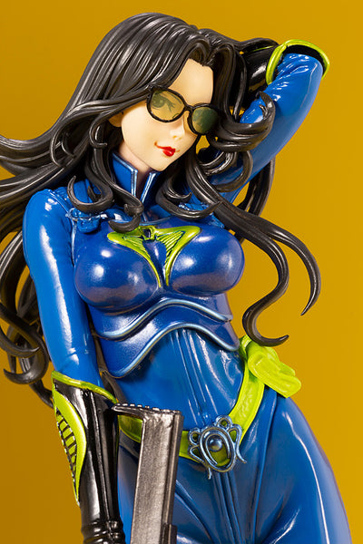 G.I.JOE BARONESS 25th ANNIVERSARY BLUE COLOR BISHOUJO STATUE CLOSE-UP