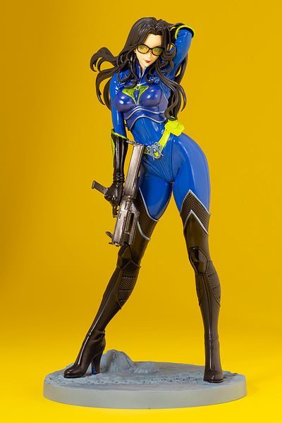 G.I.JOE BARONESS 25th ANNIVERSARY BLUE COLOR BISHOUJO STATUE