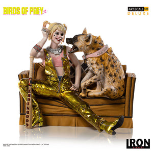 [PRE-ORDER] Harley Quinn & Bruce Deluxe Art Collectible Scale 1/10 – Birds of Prey Statue