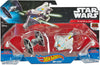 Hot Wheels Star Wars Starships Rebels Ghost vs. TIE Fighter 2-Pack