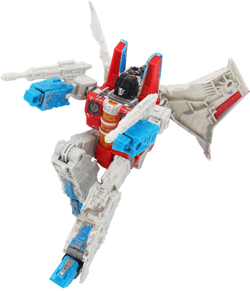 Transformers Toys Generations War for Cybertron Deluxe STARSCREAM Action Figure