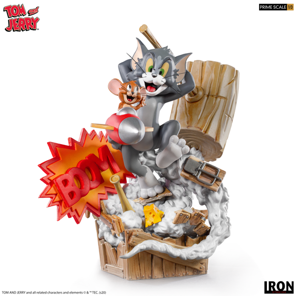 [PRE-ORDER] Tom & Jerry Prime 1/3 Scale Limited Edition Statue