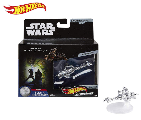 Hot Wheels Star Wars Starships Commemorative Series Speeder Bike