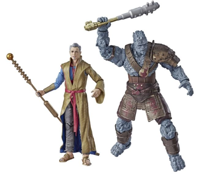 Marvel Legends 80th Anniversary Grandmaster & Korg - 6 Inch Action Figures