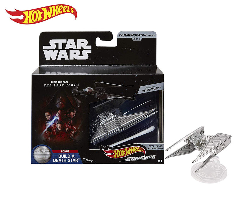 Hot Wheels Star Wars Starships Commemorative Series Kylo Rens Tie Silencer