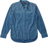 Jeans Fabric Blue Shirt