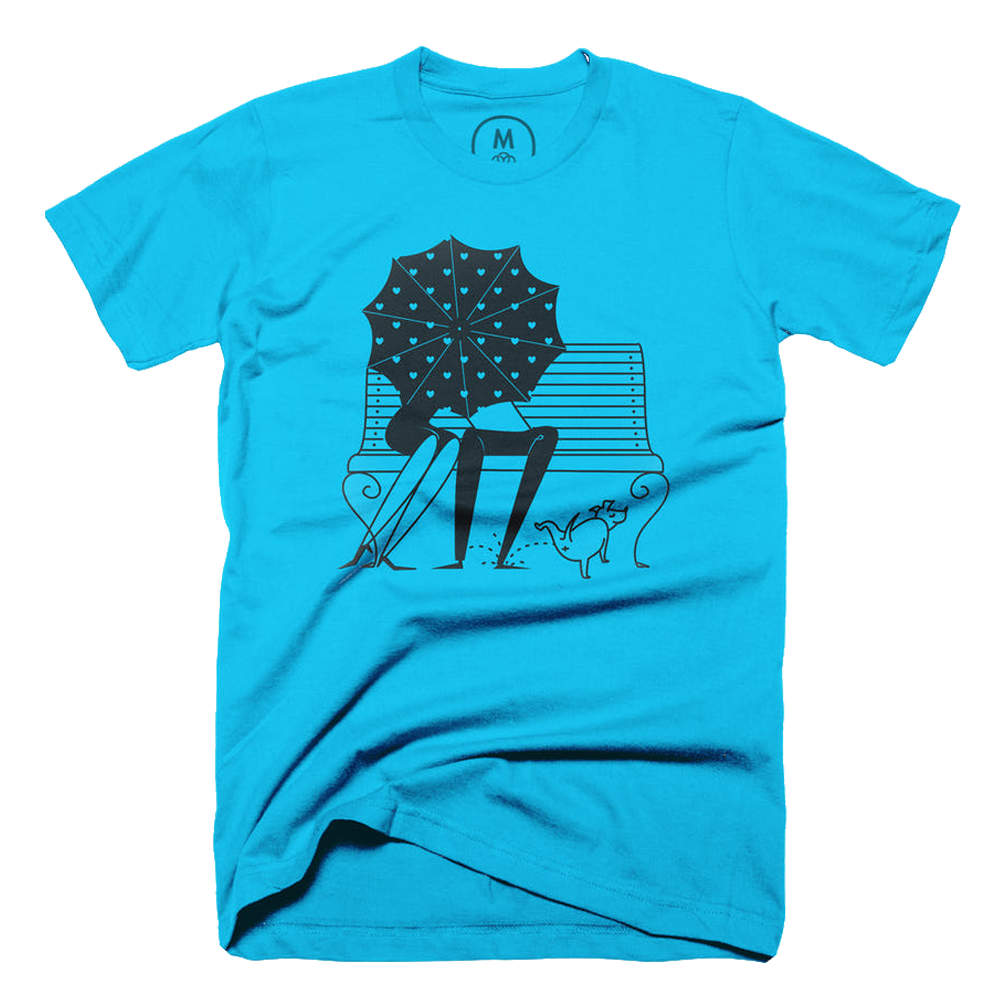 Umbrella Print T-shirt