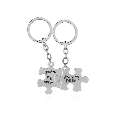 You're My Person Best Friend Key Chains