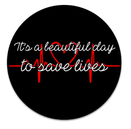It's A Beautiful Day To Save Lives Popsocket