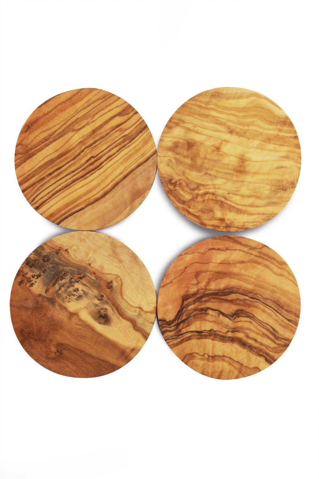 Be Home Olive Wood Coasters