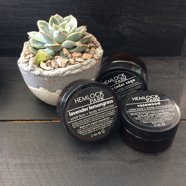 Hemlock Park Solid Face and Body Moisturizer