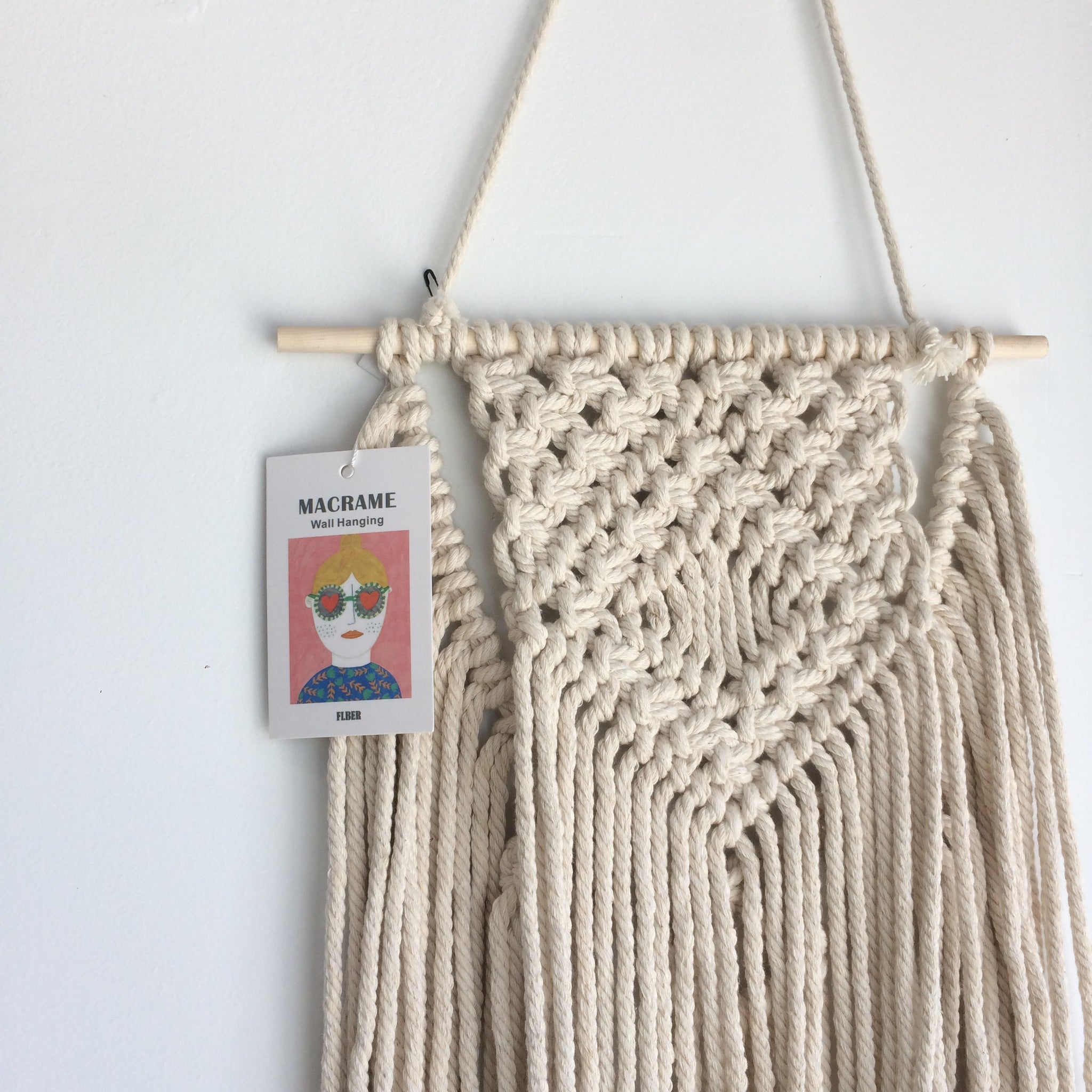 Macrame Wall Hanging by FLBER