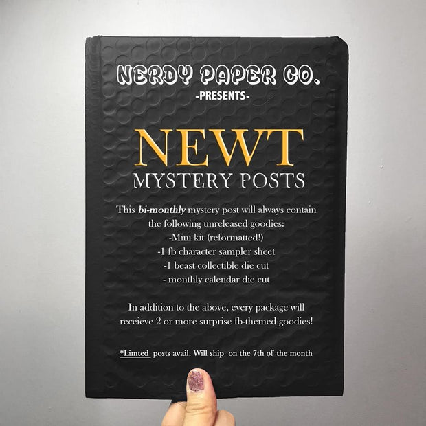 NEWT MYSTERY POST | BI-MONTHLY