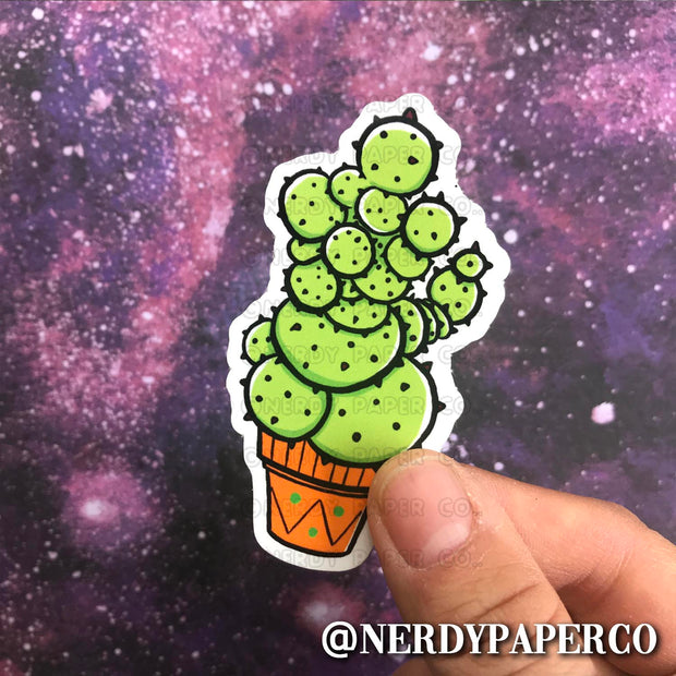 MAGICAL PLANT |  Hand Drawn Wizard  Vinyl Sticker