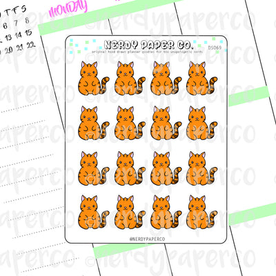 SUKI - Hand Drawn Planner Stickers - DS069