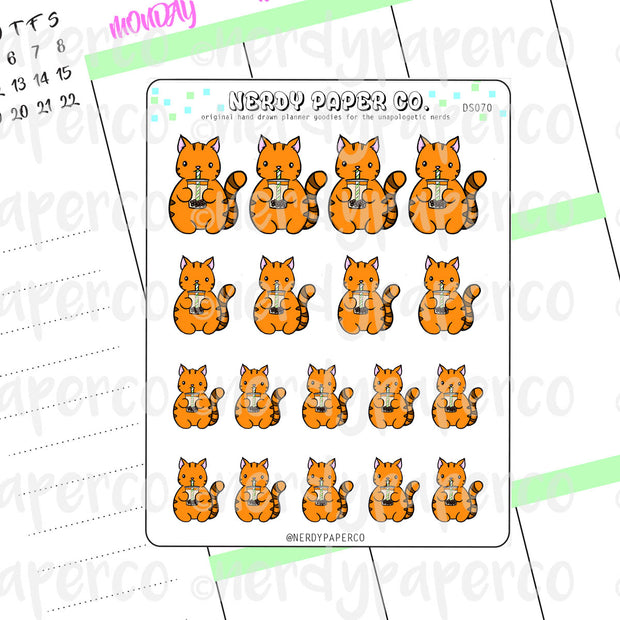 SUKI ♥ BOBA - Hand Drawn Planner Stickers - DS070