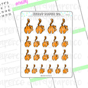 SPUNKY SUKI - Hand Drawn Planner Stickers - DS072