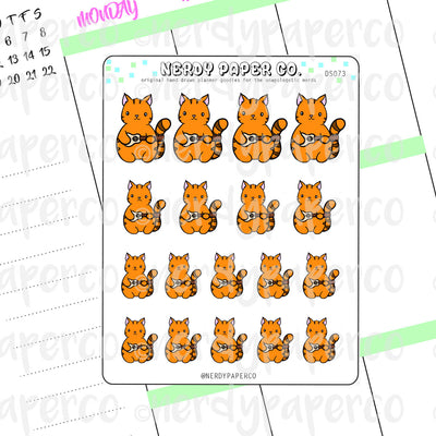 UKULELE SUKI - Hand Drawn Planner Stickers - DS073
