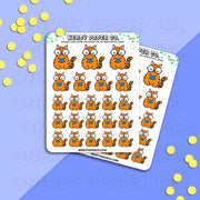 SUKI READS - Hand Drawn Planner Stickers - DS074