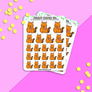 SUKI POCKY - Hand Drawn Planner Stickers - DS075
