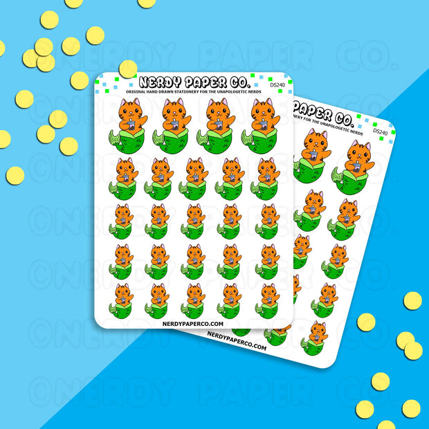 MER-SUKI - Hand Drawn Planner Stickers - DS240