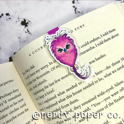 FWOOPER  | Hand Drawn Laminated Magnetic Bookmark